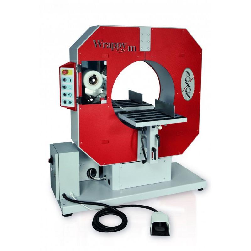 Avvolgitrice orizzontale ad anello rotante Wrappy M (manuale)